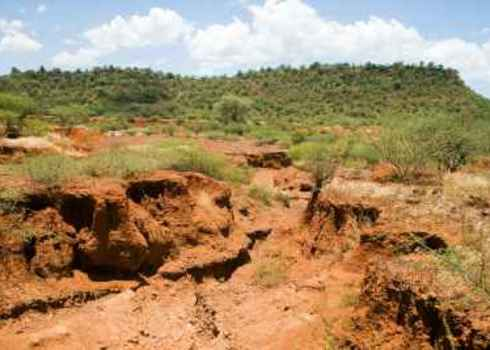 Soil Erosion  Caused By Heavy Rainfalls In Central Kenya 167258867 Erichon