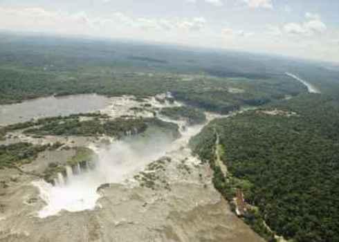Tbpa Aerial View Of Iguassu Falls (Iguazu Iguacu), Misiones, Argentina And Parana, Brazil 130337195 Sergio Schnitzler
