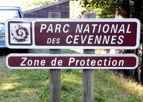 Protected Area Panel Delimiting The Protection Zone Of The Cevennes National Park 153175556 Gilles Paire