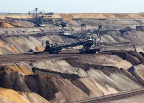 Abiotic Resources Open Pit Mine Vander Wolf Images