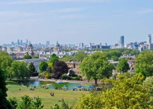 Green Infrastructure Greenwich Park London Nadiia Gerbish