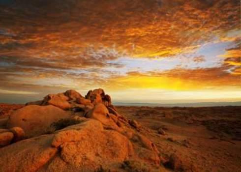 Wilderness Gobi Desert At Sunrise Galyna Andrushko
