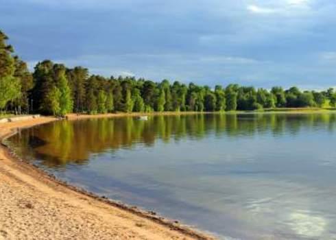 Natura2000 Sand Beach In Sweden, Vattern 35649583 X Phantom