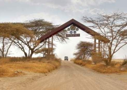 Protected Area Entrance Gate Serengeti National Park 148627094 Chantal De Bruijne