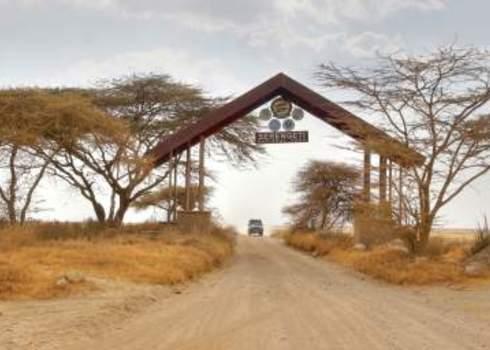 Protected Area Entrance Gate Serengeti National Park 148627094 Chantal De Bruijne