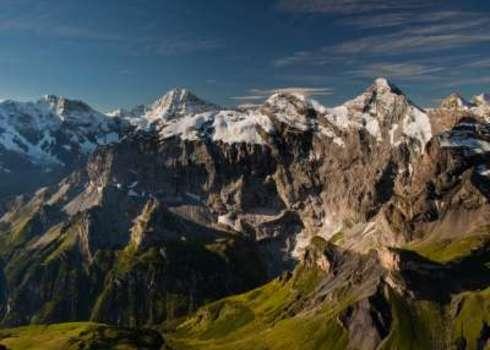 Alpine View From The Schilthorn Mountain In Switzerland 66622546 Trance Drumer