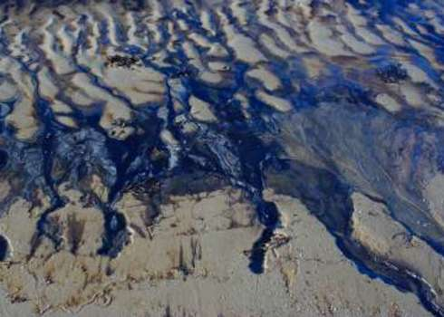 Oprc Oil Spill On Sand Meelis Endla