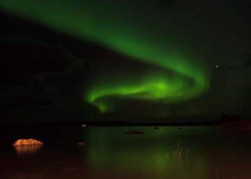Ouv Northern Lights In Kvarken, Finland Ann Britt
